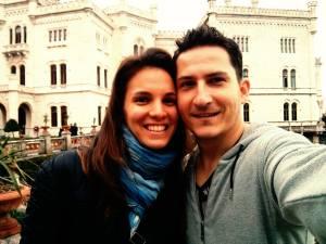 Olaszországi kirándulás a párommal